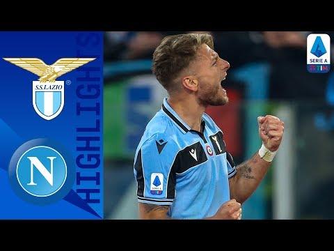 Lazio 1-0 Napoli | Immobile Gets His 20th Goal Of The Season | Serie A TIM