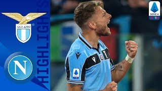 Lazio 1-0 Napoli | Immobile Gets his 20th Goal of the Season | Serie A TIM
