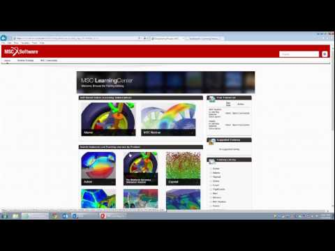 Adams Online Training for Beginners and Casual Users | The MSC Learning Center