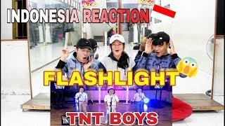 TNT Boys Flashlight (INDONESIA REACTION) Amazing Kids!!