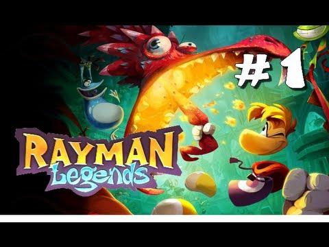 Rayman Legends - Let's play FR - Episode 1