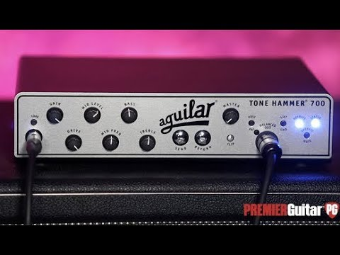 Review Demo - Aguilar Tone Hammer 700