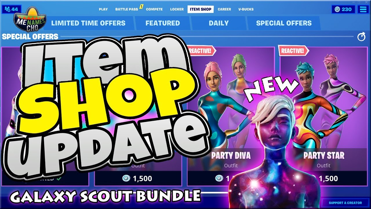 ?Fortnite Item Shop Update ? Galaxy Scout Gameplay ⚡ LIVE - 31st July 2020 (Fortnite Battle Royale)