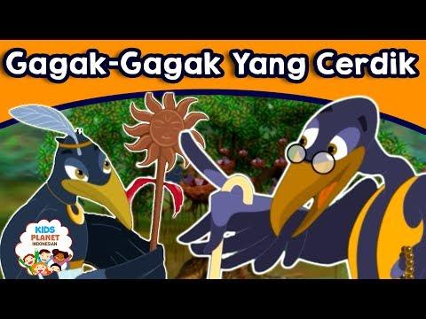 Gagak-Gagak Yang Cerdik - Cerita Untuk Anak-Anak | Dongeng Bahasa Indonesia | Animasi Kartun