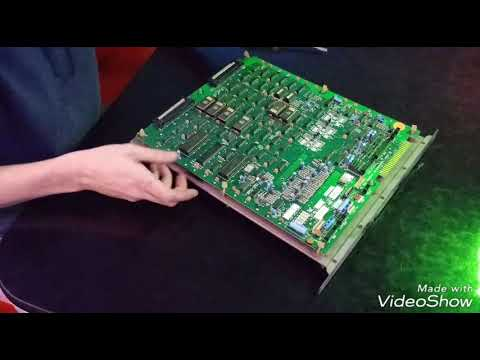 How To Reseat ROMs On An Arcade PCB, Donkey Kong