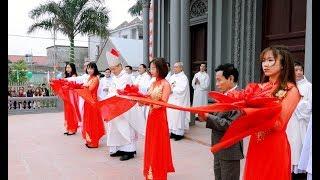 Lễ Cắt Băng Khánh Thành Nhà Thờ Giáo Họ Trung Đồng - GX Lạc Thành