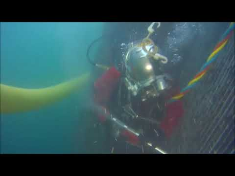 Sub Sea Services Caviblaster cleaning