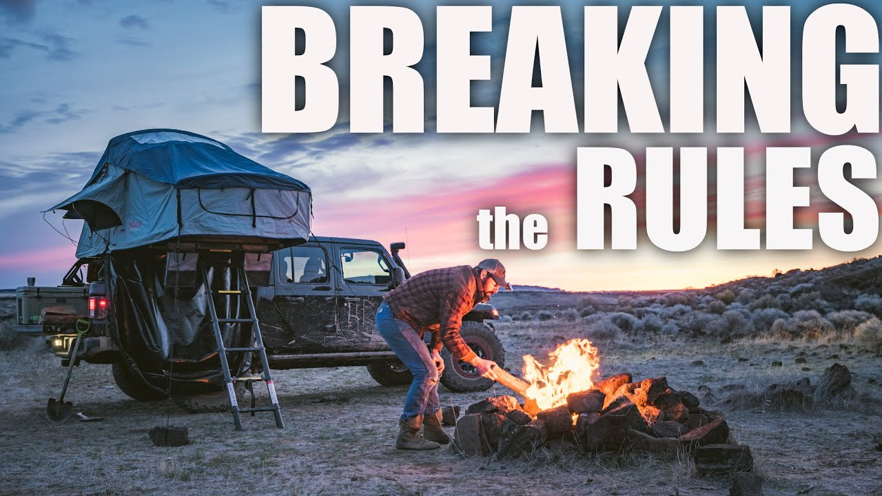 RMT Overland Jeep Gladiator Adventure - Breaking the Rules