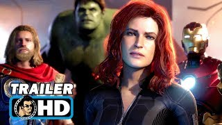MARVEL\'S AVENGERS: A-DAY Official E3 Trailer (2019) Square Enix