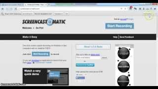 Урок| Как скачать программу  screencast-o-matic