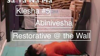 Yoga Klesha PRACTICE #5: Abinivesha - LauraGyoga