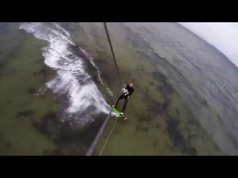 Best of Fails Kitesurfing on the Baltic Sea during Winter in Germany