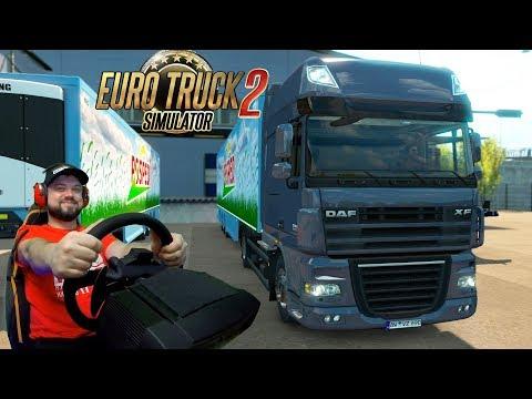 Новая работа в Европе Pro Mods - Euro Truck Simulator 2
