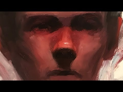 """Portrait Painting: 30 Minute Sketch """"Back From War"""" 