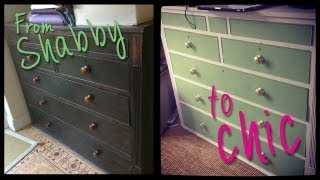 Diy Shabby To Chic Furniture Transformation