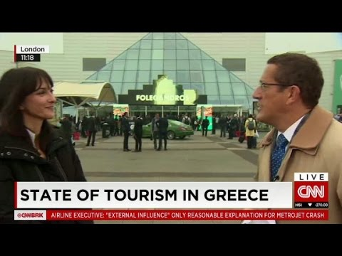 State of tourism in Greece