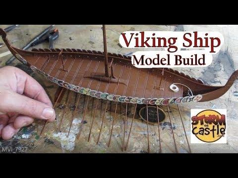 Make A Model Viking Ship Youtube