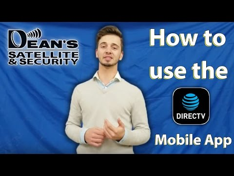 How To Use The DIRECTV Mobile App