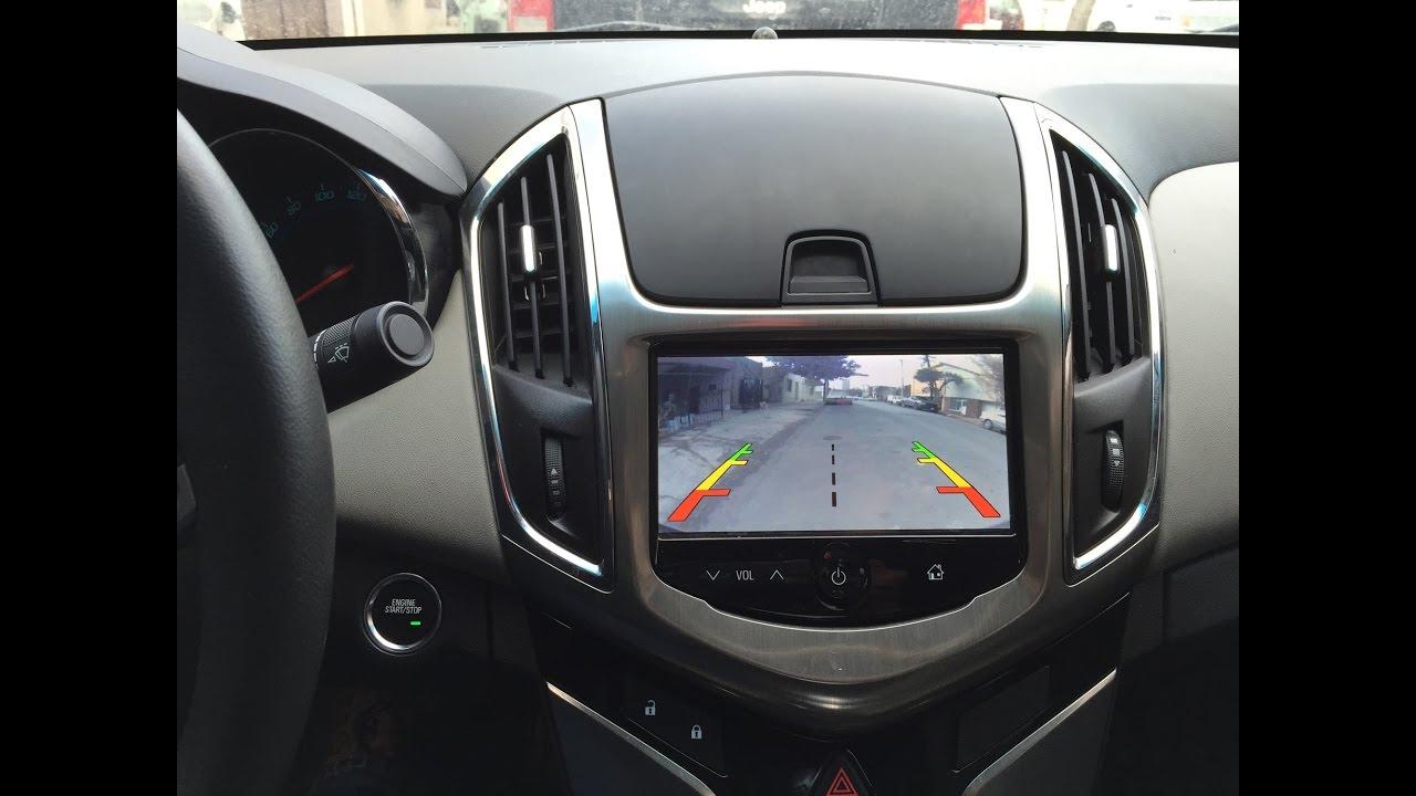Instalacion De Camara Reversa Para Chevrolet Cruze Ltz