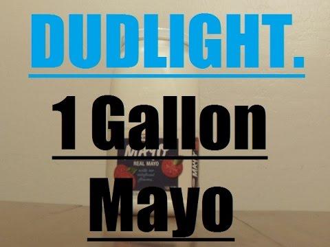 1 Gallon Mayonnaise Challenge (23,040 CALORIES) Dud Light. Mayo Beast.
