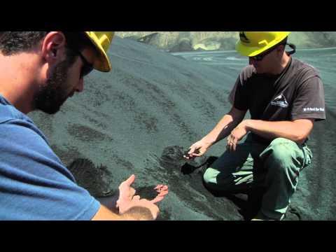 Mining Volcanic Rock for LEO Soil