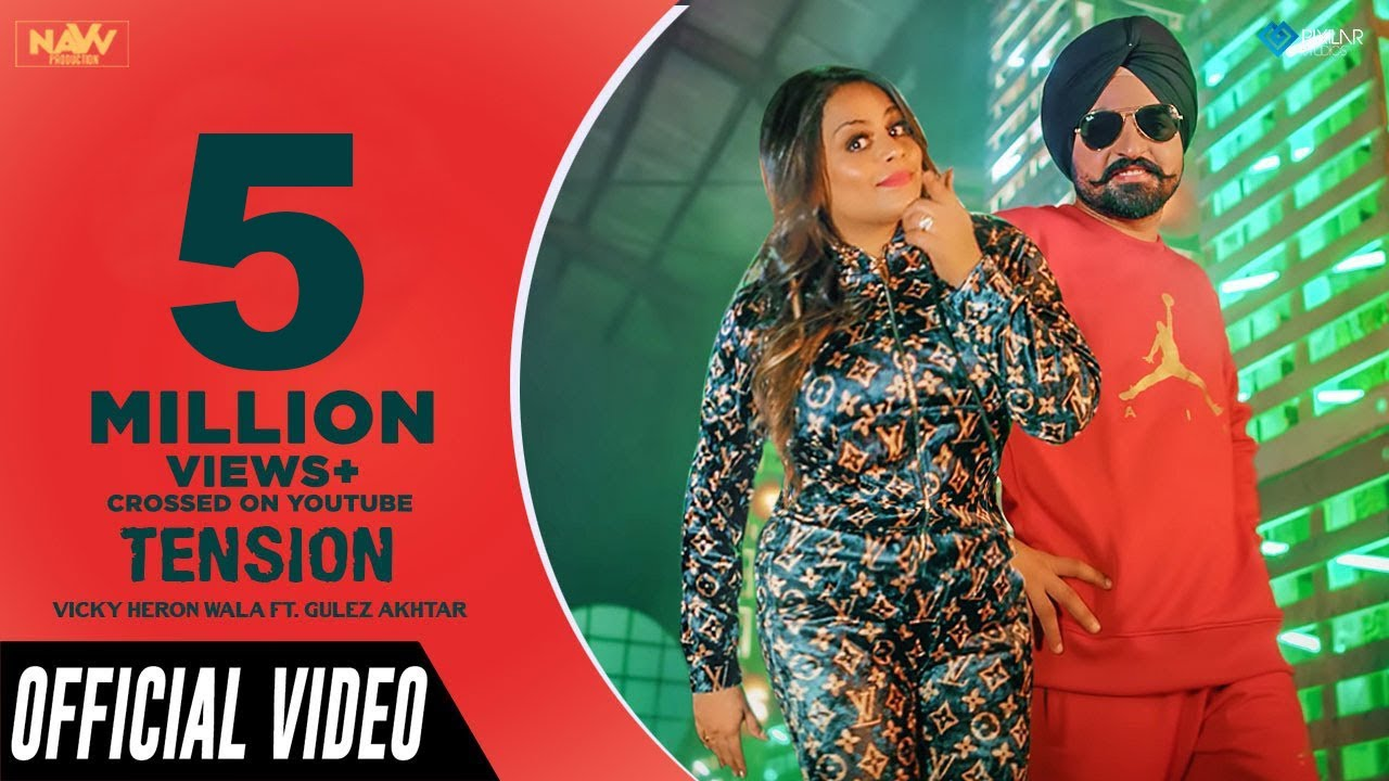 Download Tension (Official Video) | Vicky Heron Wala Ft. Gurlez Akhtar | Music Empire | Latest Punjabi Songs