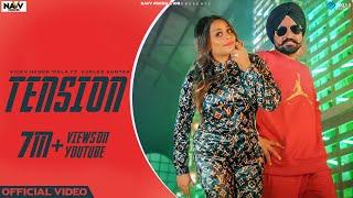 Tension (Gurlez Akhtar, Vicky Heron Wala) Mp3 Song Download
