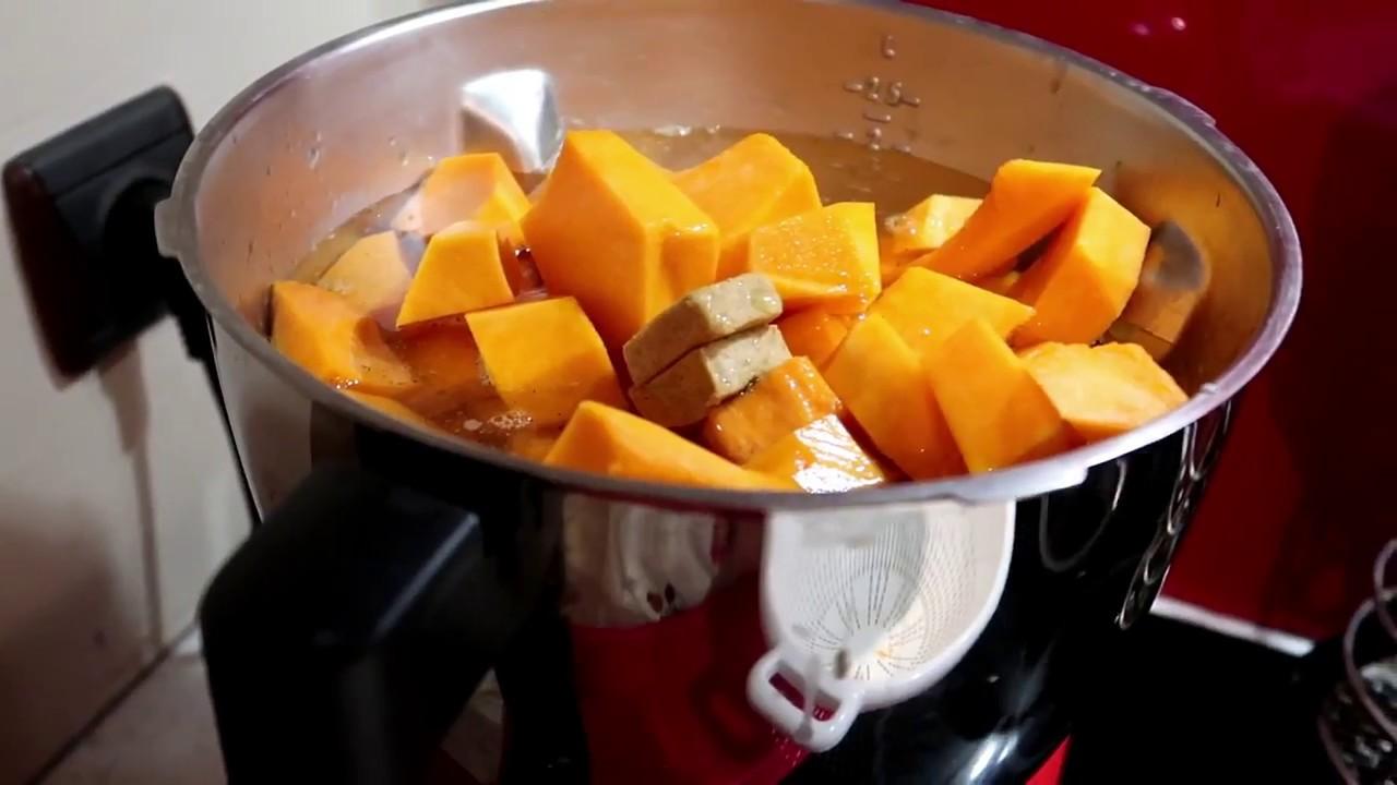 magimix cook expert robot cuiseur soupe velout de potiron fait maison youtube. Black Bedroom Furniture Sets. Home Design Ideas