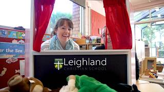 Welcome to Leighland Playgroup Online - A Puppet Show!