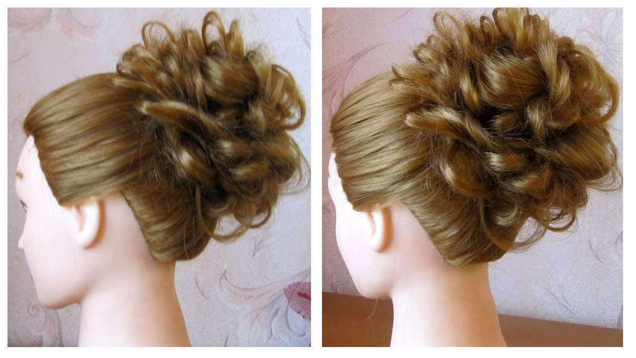 Chignon facile cheveux long tuto