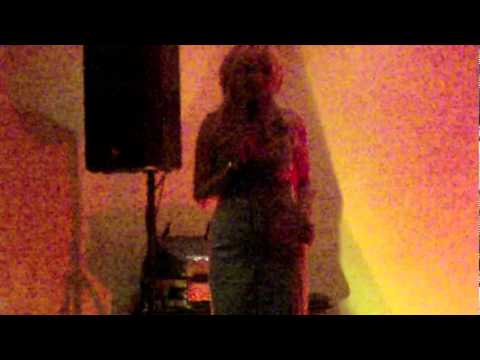 Blackhill club Consett, Duffy sings wonderfully!
