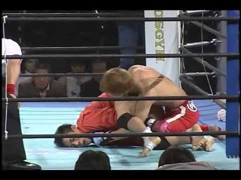 Zst The Battlefield 2 - Hideo Tokoro vs. Hidehiko Matsumoto forum.mixfight.ru
