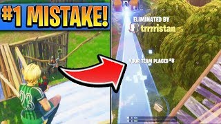 #1 MISTAKE Fortnite Players Make in SEASON 5! How to win in Fortnite! (Ps4/Xbox tips and Tricks)