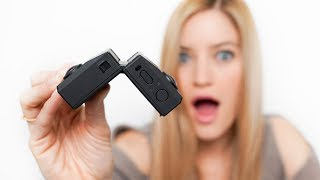 Foldable Camera?! 180 + 360 IN ONE! Insta360 Evo Unboxing