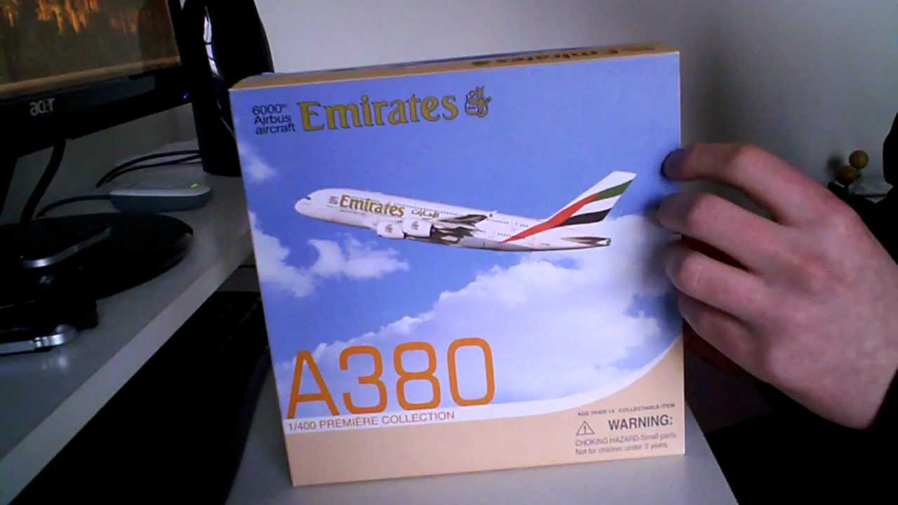 Hogan Wings Emirates A380