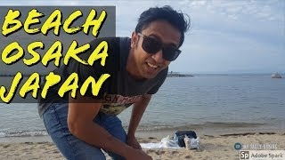 Travelling Japan  Vlog II beach near osaka II indian in japan II Rom Rom ji