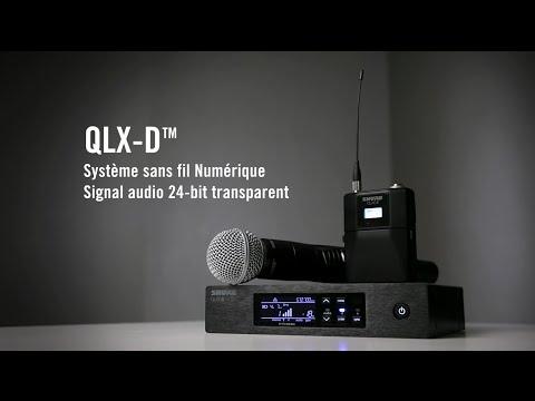 SHURE QLX-D : système sans fil numérique (La Boite Noire)
