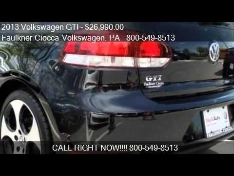 2013 Volkswagen GTI 2dr HB DSG PZEV *Ltd Avail* - for sale i