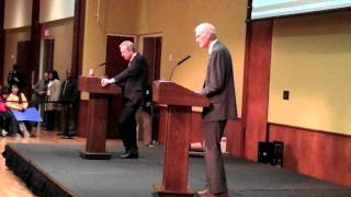UW Madison Debate on Diversity: Roger Clegg vs Prof. Church (Part 5)