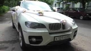 БМВ Х6 на свадьбу в Твери