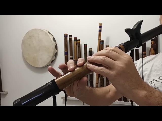 Flauta Nativa F# 440