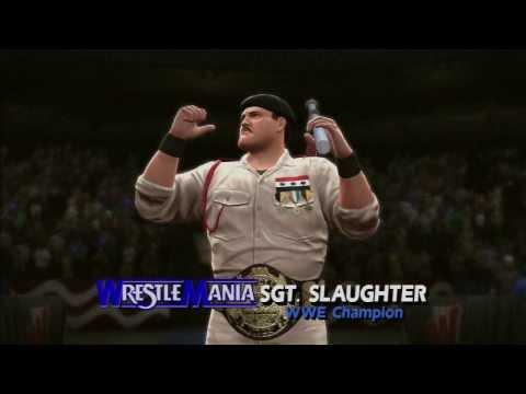 WWE 2K14: HULK HOGAN VS SGT SLAUGHTER - 30...
