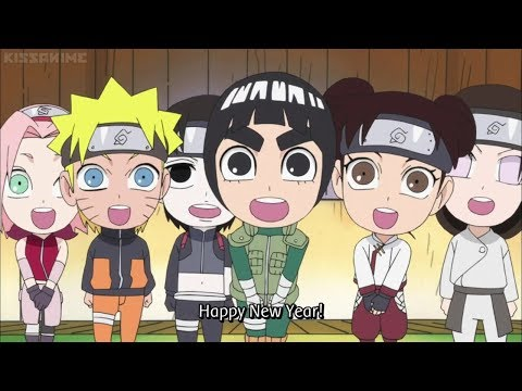 Happy New Years ! From Rock Lee's Family