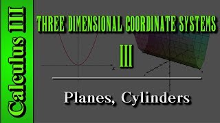 Download Video Calculus III: Three Dimensional Coordinate Systems (Level 3 of 10) | Planes, Cylinder MP3 3GP MP4