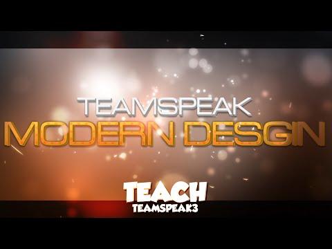 [Free TeamSpeak Desgin] Modern Desgin │ تصميم مجانا للتيم سبيك التصميم الحديث
