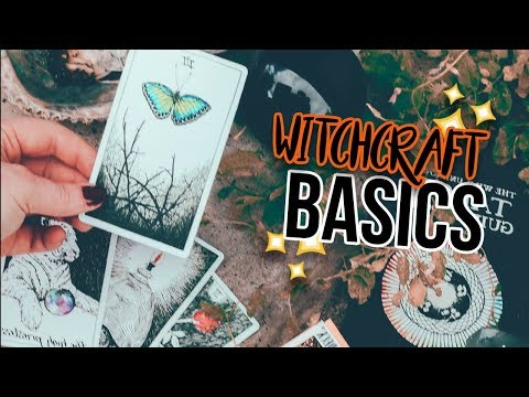 🎃 Getting Started in Witchcraft    YouTober Day 23 🎃