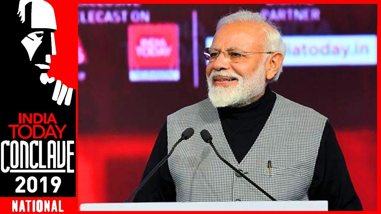 PM Narendra Modi Speech At India Today Conclave 2019 | Exclusive