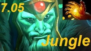 How to Jungle Wraith King to a Hand of Midas in Patch 7.05 : DotA 2 Guides