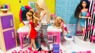 Barbie Chelsea Stacie Skipper School Morning Routine!!
