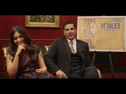 Toilet Ek Prem Katha Interview Akshay Kumar & Bhumi Pednekar change the country through film